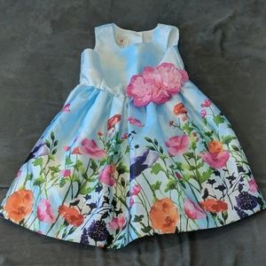 Marmellata I puffy spring floral💐 dress size 3T